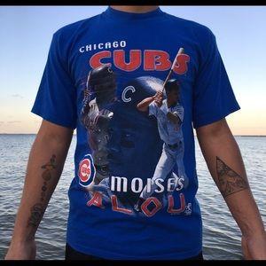VINTAGE CHICAGO CUBS MLB MOISES ALOU T SHIRT